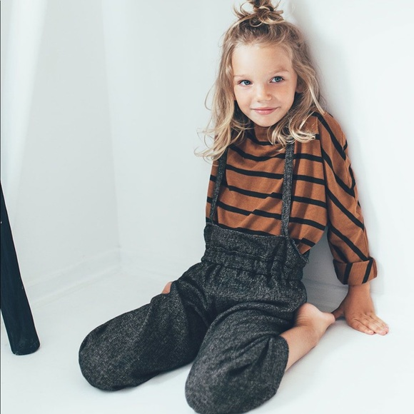 a8499764 Zara girls soft collection suspender pants. M_5b2d8ce8c9bf5091d0a444e2